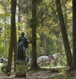 Осенняя аллея Павловского парка