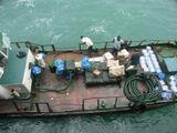 Бенин. Рейд Котону, привезли поесть после ограбления камбуза в Нигерии