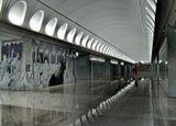 Во время консервации строительства на недостроенной станции «Достоевская» снимался фильм «Путевой обходчик», вышедший на экраны в 2007 году.