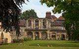 Остатки римских построек в Англии.