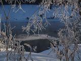 Зима.Река.
