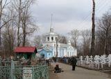 Церковь Мартина Исповедника на Соломбальском кладбище в Архангельске
