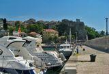 Херцег Нови, причал, Морская крепость