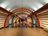 Санкт-Петербург, станция метро Обводной канал. Открыта в октябре 2011 г.