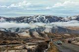 Туман в горах... Иногда не понятно где начинается небо, а где заканчиваются горы...