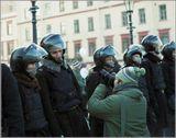 """Петербург, митинг """"За честные выборы"""", февраль 2012, пленка Fujicolor Pro 400H"""