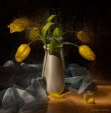 Световая кисть,тюльпаны