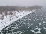 Шуга на реке Иртыш. 28.11.2011г.