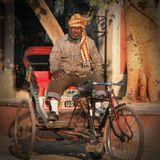 В Дели велорикши остались только в старой части города.