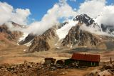Ледник Туюксу. Малое Алма-Атинское ущелье. Горы Заилийский Алатау.