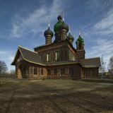 Самая красивая на мой взгляд церковь в Ярославле. С совершенно неканонической архитектурой.
