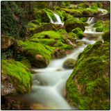 """Каждую весну  в Алупке 2-3 недели весной просыпается водопад """"Хастабаш"""""""