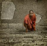 Камбоджия. С храма Ангкор Ват.