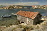 фьорд, Sverige, лодки, май, весна, Швеция.