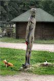 ...об использовании горожанами скульптур в личных целях..