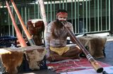 Диджериду (англ. didjeridoo или англ. didgeridoo, оригинальное название «yidaki») — музыкальный духовой инструмент аборигенов Австралии. Один из старейших духовых инструментов в мире. Он делается из куска ствола эвкалипта длиной 1—3 метра, сердцевина которого выедена термитами, мундштук может быть обработан черным пчелиным воском. Сам инструмент часто расписан красками или украшен изображениями тотемов племени.