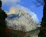 Южный берег Крыма. Вид из Алупки    Крым, Ай-Петри, Алупка, осень, горы