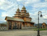 Плай, Плавье, Карпаты, церьковь арх Михаила, храм