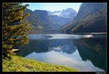 *  *  *Верхняя Австрия, ледниковое озеро Госау в горном массиве Дахштайн.*  *  *