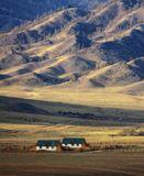 Окраина села Онгудай. Горный Алтай.