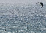 Wind сёрфинг. Кипр. Рассвет