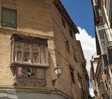 Во время прогулок по Сеговии приглянулся вот этот уютный балкончик, оказалось - пасли меня :)... А балкончик всё-же хорош!