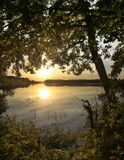 """Закат на озере """"Святое"""" близ г. Шатура"""