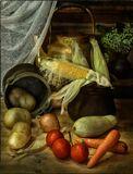 С овощами и кукурузой 2
