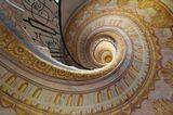 """Винтовая лестница в монастыре Мельк, Австрия.Монастырь в Мельке упоминается в романе Умберто Эко """"Имя розы"""" как место, где была найдена рукопись."""