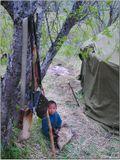Старшие пошли заниматься оленями, а малышу поручили охранять жилище. Непростая это работа- вокруг много волков и медведей.