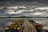 """Озеро Селигер.Маломерный туристический """"флот""""."""