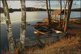 Мертвый сезон на Медном озере под Питером.