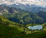 Deutschland Obersdorf Nebelhorn
