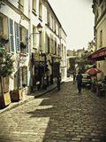 Париж Монмартр улочки