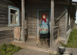 Баба Лида, 83 года,деревня Конёвка,сама доброта)
