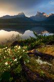 Россия, Красноярский край, природный парк Ергаки, озеро Светлое, июнь 2012