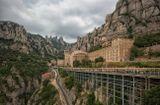 Монастырь Монсеррат, Каталония.