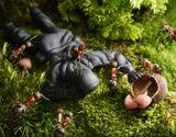 как муравьишки спасли чью-то бабушку