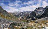 Тур по маршруту http://tursport.ru/tourists/tur-7-osen-v-arkhyze.html подъем на перевал Иркиз