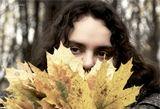 Модель: Мария   Пленер Осень меланхолия настроение лист портрет