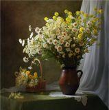 Букет луговые цветы