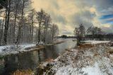 осень,ноябрь,предзимье,река,деревья,снег