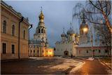 Вологда.Соборная площадь