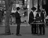 Тель-Авив. Пятничная сценка на улицах города