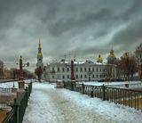 Петербург.Красногвардейский пешеходный мост.