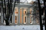 архангельское дворец юсупова фрагмент зима