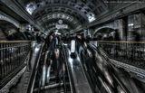 Зомби в московском метро