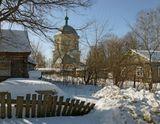 Тверская область.Февраль 2013.Первая фотография из серии работ о селе Никольское,что рядом с Тверью.