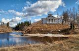 Музей-усадьба в селе Рождествено Гатчинского района Ленинградской области