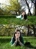 женский портрет. съемки на природе.